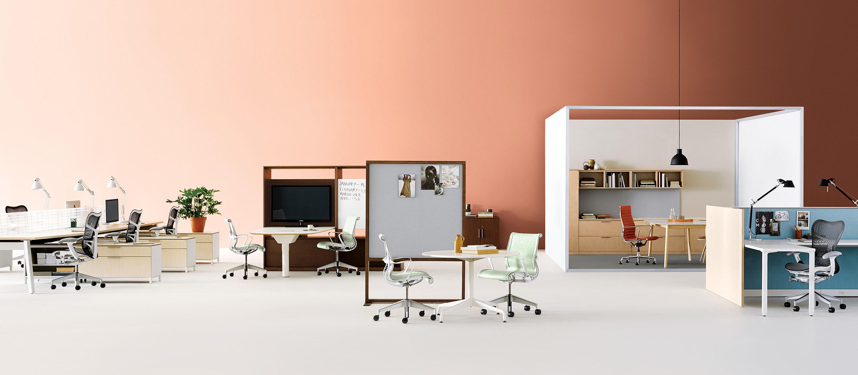 Herman Miller furniture dealer | Interior Investments