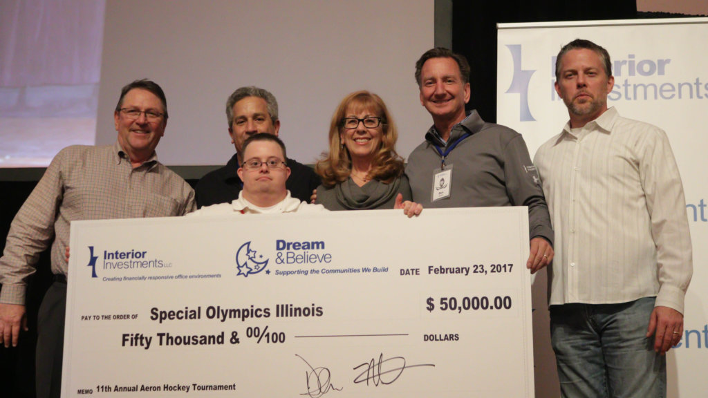 Helping our Friends at the Special Olympics of Illinois