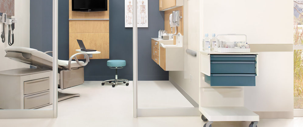 The Herman Miller Healthcare collection elevates the care experience